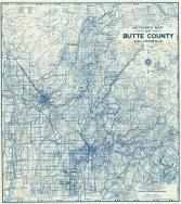 Butte County C California Historical Atlas - Butte county map