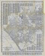 Santa Monica Bay District Map, Los Angeles 1929