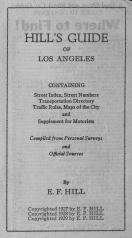 Title Page, Los Angeles 1929