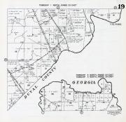 Township 1 North, Range 25 East, Township 5 North, Ranges 23 and 24 East, Thomas River, Nassau County 1959