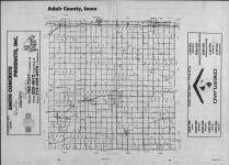 Index Map, Adair County 1990 Published by Farm and Home Publishers, LTD