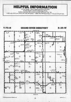 Grand River T75N-R30W, Adair County 1990 Published by Farm and Home Publishers, LTD