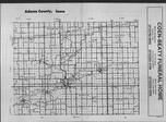 Index Map, Adams County 1989