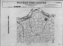 Index Map, Allamakee County 1990