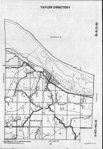 Map Image 007, Allamakee County 1990