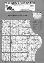 Index Map, Allamakee County 1992