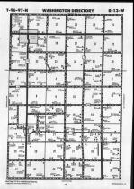 Map Image 002, Chickasaw County 1990