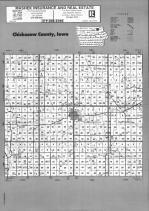 Index Map, Chickasaw County 1992