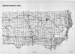 Index Map, Clinton County 1988