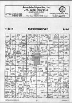 Bloomfield T83N-R3E, Clinton County 1990 Published by Farm and Home Publishers, LTD
