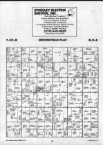 Brookfield T83N-R2E, Clinton County 1990 Published by Farm and Home Publishers, LTD