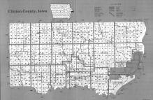 Index Map, Clinton County 1991