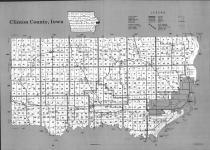 Index Map, Clinton County 1992