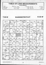 Washington T82N-R39W, Crawford County 1990 Published by Farm and Home Publishers, LTD
