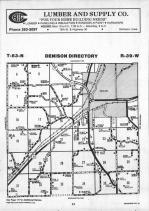 Denison T83N-R39W, Crawford County 1990 Published by Farm and Home Publishers, LTD