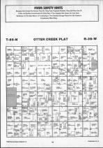Otter Creek T85N-R39W, Crawford County 1990 Published by Farm and Home Publishers, LTD