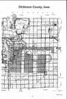 Dickinson County Index Map 2, Dickinson and Emmet Counties 1984