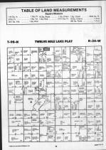 Twelve Mile Lake T98N-R34W, Emmet County 1990 Published by Farm and Home Publishers, LTD