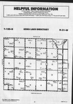Iowa Lake T100N-R31W, Emmet County 1990 Published by Farm and Home Publishers, LTD