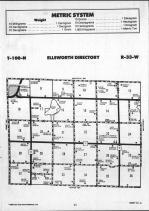 Ellsworth T100N-R33W, Emmet County 1990 Published by Farm and Home Publishers, LTD