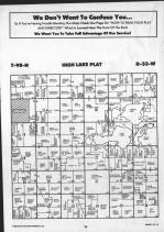 High Lake T98N-R33W, Emmet County 1990 Published by Farm and Home Publishers, LTD