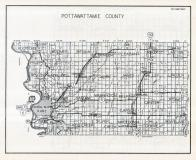 Pottawattamie County Map