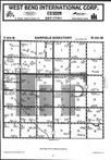 Map Image 013, Kossuth County 1984 Published by Farm and Home Publishers, LTD