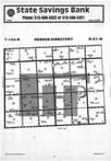 Map Image 053, Kossuth County 1985 Published by Farm and Home Publishers, LTD
