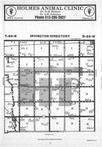 Map Image 057, Kossuth County 1985 Published by Farm and Home Publishers, LTD