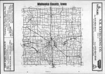 Index Map, Mahaska County 1987