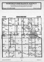 Map Image 015, Mahaska County 1987
