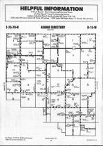 Map Image 007, Mahaska County 1990