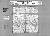 Index Map, Mahaska County 1992