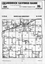 Map Image 001, Mahaska County 1992