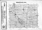 Index Map, Mitchell County 1986