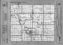Index Map, Mitchell County 1990