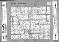 Index Map, Mitchell County 1992