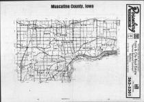 Index Map, Muscatine County 1987