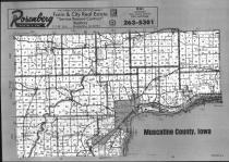 Index Map, Muscatine County 1990