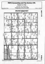 Map Image 001, Muscatine County 1992