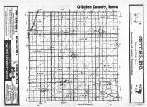 Index Map, O'Brien County 1987