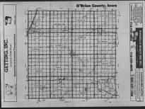 Index Map, O'Brien County 1989