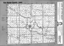 Index Map, Van Buren County 1991