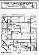 Map Image 004, Wapello County 1990