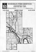 Map Image 019, Wapello County 1990