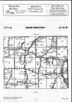 Map Image 024, Wapello County 1990
