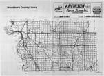 Index Map, Woodbury County 1989