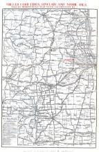 Madison Wisconsin to Decatur Illinois Region Map