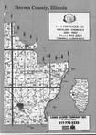Brown County Index Map 001, Schuyler and Brown Counties 1992