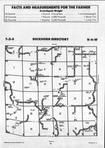 Brown County Map Image 019, Schuyler and Brown Counties 1992
